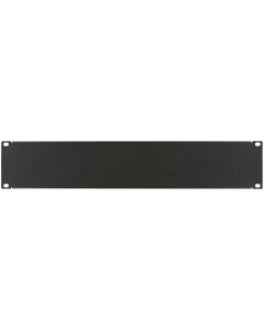 "LOGON 2U 19"" SCREW TYPE BLANK PANEL BLACK"