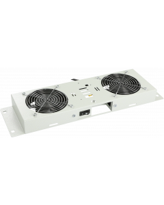 LOGON 2 FANS, ON/OFF CONTROLLED FAN MODULE WHITE