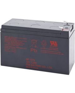 INFOSEC GP1272 BATTERY 12v/7.2Ah