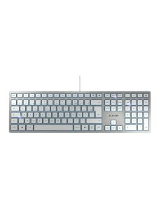 CHERRY KC 6000 SLIM CORDED KEYBOARD AZERTY BE SILVER