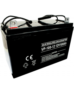 STANDARD LEAD ACID BATTERY 12V 100Ah - 214x171x330MM