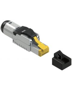 BKT CAT6A SHIELDED TOOLLESS PLUG