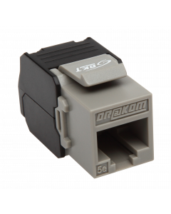BKT KEYSTONE RJ45 UNSHIELDED CAT5e TOOL-FREE
