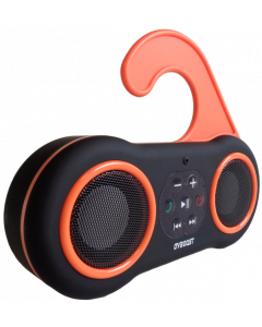 OVBOOST HAPPYBEACH BLUETOOTH SPEAKER - BLACK/ORANGE