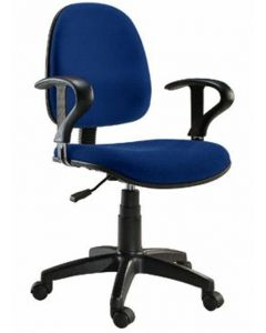EASY OFFICE CHAIR BLUE