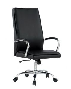 TECHLY BLACK OFFICE CHAIR