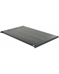 LOGON TRAY FOR CABINETS D=1000 FIXED SHELF BLACK