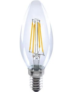 CANDLE FULL GLASS OMNI-LAMP 4W (36W) 2700K 420LM E14 NON-DIM