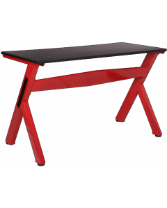 GAMMEC GAMING TABLE - BLACK / RED