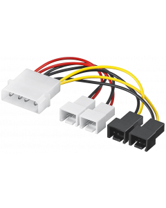POWER CABLE INTERNAL 4 PIN TO 2x2 PIN 12V & 2x2 PIN 5V