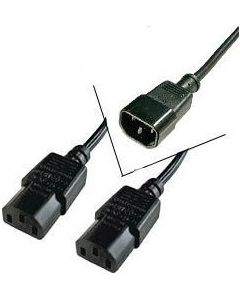 POWER CABLE 1.8 M Y-CONNECTION/EXTENSION CABLE