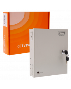 CCTV SYSTEM POWER SUPPLY 9-CHANNEL - TOTAL 10A
