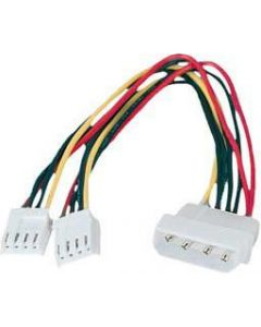"POWER CABLE INTERNAL 5.25"" MALE TO 2x 3.5"" FEMALE"