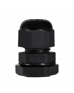 LOGILINK CABLE GLAND M16, IP68, BLACK, SET WITH 10 PCS.