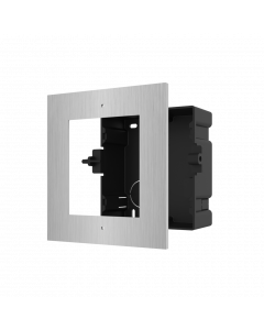 HIKVISION 1 MODULE ACC. FOR FLUSH MOUNTING STAINLESS STEEL