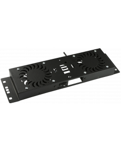 LOGON 2 FANS, ON/OFF CONTROLLED FAN MODULE BLACK