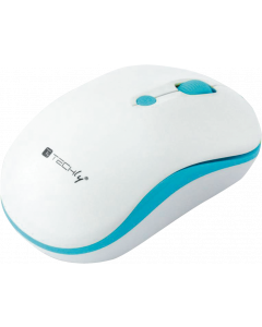 TECHLY WIRELESS MOUSE 2.4 GHZ WHITE / BLUE
