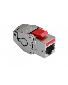 BKT KEYSTONE RJ45 SHIELDED CAT6A TOOL-FREE