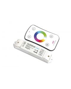 RF WIRELESS RGB RECEIVER WITH TOUCH REMOTE CONTROLLER