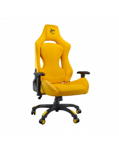 WHITE SHARK GAMING CHAIR MONZA YELLOW