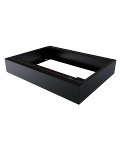 LOGON IP55 W=600 D=450 H=100mm PLINTH MODULE BLACK
