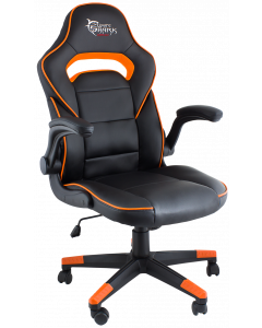 WHITE SHARK GAMING CHAIR SHEBA - BLACK/ORANGE