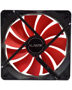 ALANTIK RED CASE FAN - 14CM