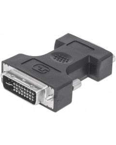 TECHLY DVI-I (24+5) MALE TO VGA HD15 FEMALE ADAPTER