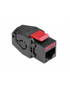 BKT KEYSTONE RJ45 UNSHIELDED CAT6A TOOL-FREE