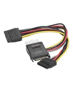 Y CABLE SATA TO MOLEX + 2 X SATA