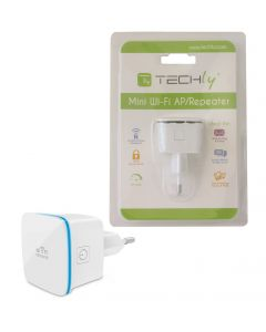 TECHLY 300MBPS MINI WIRELESS REPEATER AMPLIFIER
