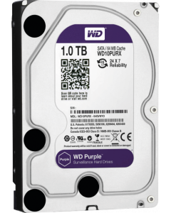 WESTERN DIGITAL HARDDISK SATA 1TB PURPLE