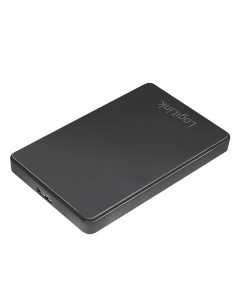 "LOGILINK 2,5"" EXTERN. ENCL. USB 3.0, , SCREWLESS, BLACK"