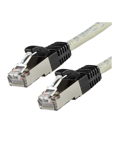 PATCH CABLE S/SFTP 1M - CAT6 - IVORY - LSOH - SPECIAL POE