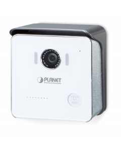 PLANET 720P POE DOOR PHONE, 720P CMOS SENSOR, WIDE 112 DEGR
