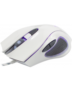 WHITE SHARK MOUSE GM-1605 HERCULES WHITE / 4800 DPI