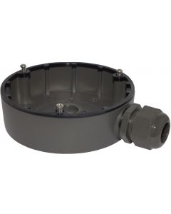 JUNCTION BOX FOR DOME CAMERA - BLACK