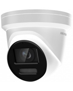 HIKVISION 8MP 4K COLORVU TURRET BUILT IN MICRO 2.8MM