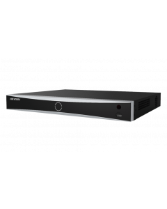 NVR 8 CH 12MP - 2HDD 6TB - ALARM 4IN/1OUT - 8 POE - 1CVBS