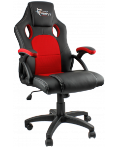 WHITE SHARK GAMING CHAIR KINGS THRONE - BLACK/RED