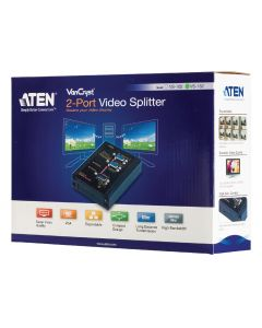 ATEN 2-PORT VIDEO VGA SPLITTER 350MHZ - VS132