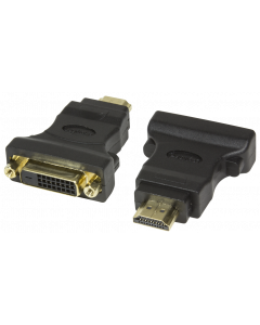LOGILINK HDMI MALE TO DVI-D (24+1) FEMALE ADAPTER