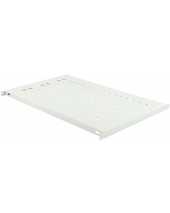 LOGON TRAY FOR CABINETS D=1000 FIXED SHELF WHITE