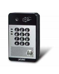 PLANET 720P SIP MULTI-UNIT APARTMENT DOOR PHONE WITH RFID