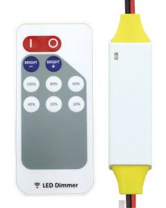 RF SINGLE COLOUR LED REMOTE CONTROL AND RECEIVER