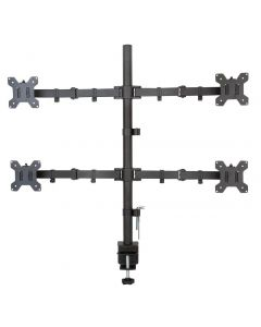 "QUAD DESKTOP LED/LCD MOUNT 13-27""40KG WITH CLAMP"