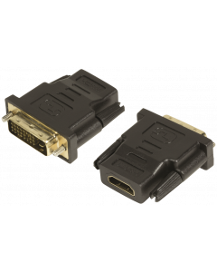 LOGILINK HDMI FEMALE TO DVI-D (24+1) MALE ADAPTER
