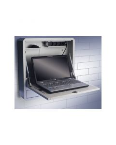 WALLMOUNT CABINET FOR LAPTOP 59,6 x 59,6 x 12,7 cm