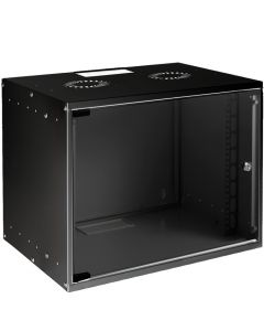 "LOGON 10"" 6U W=312mm D=300mm WALL TYPE ASSEMBLY SOHO CABINET"
