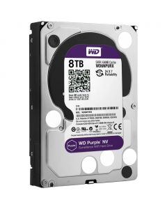 WESTERN DIGITAL HARDDISK SATA 8TB PURPLE